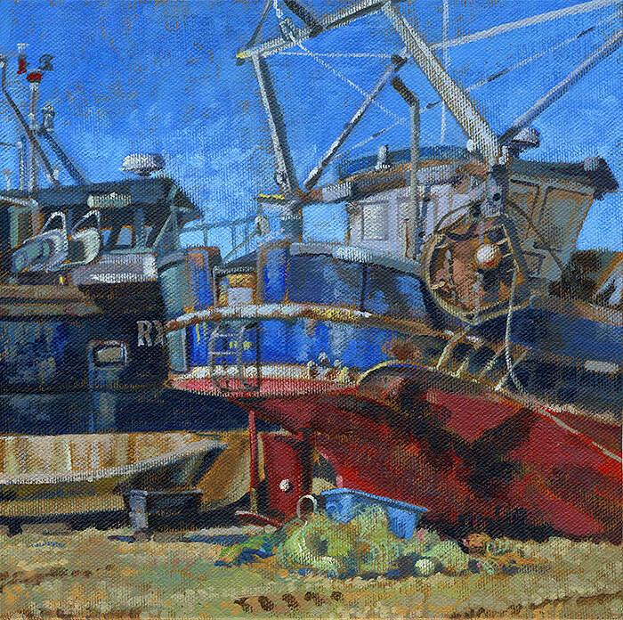 Boats at Hastings