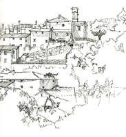 Capraia drawing