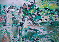 Scotney castle drawing